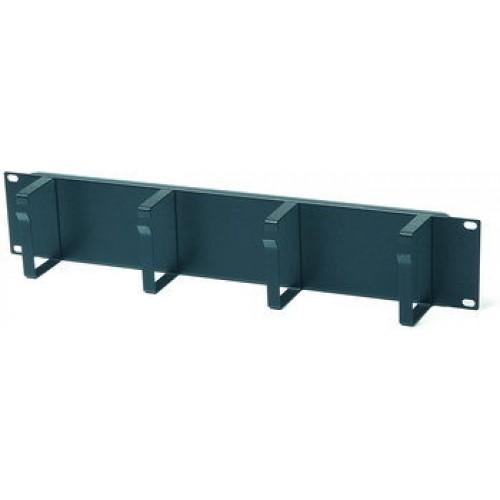 Металлический вертикальный кабельный организатор с крышкой 42U, для шкафов TTC,
