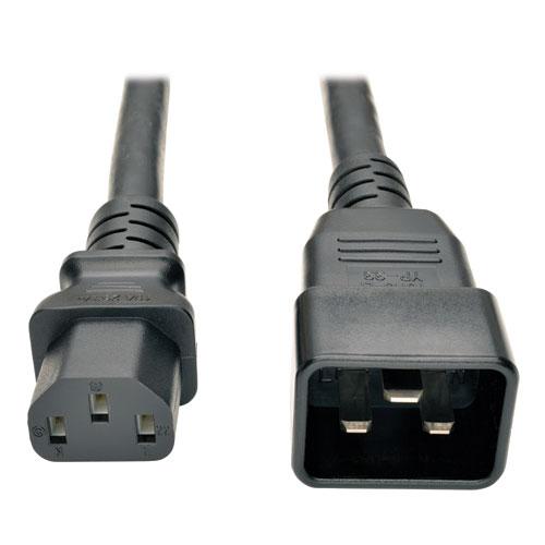 Шнур питания С13-C20, 3х0.75, 220В, 10А, 2 метра LAN-PP13/20-10A-2.0