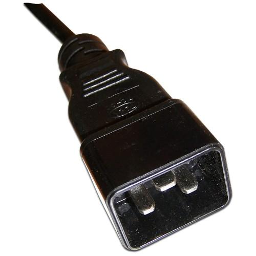 Шнур питания С13-C20, 3х0.75, 220В, 10А, 3 метра LAN-PP13/20-10A-3.0