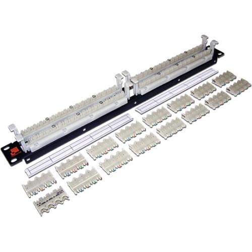 Кроссовая панель 110 типа, 64 пары, 19