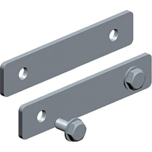 Соединитель прямой для алюминиевого лестничного лотка