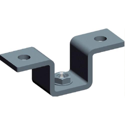 Скоба потолочная для алюминиевого лестничного лотка