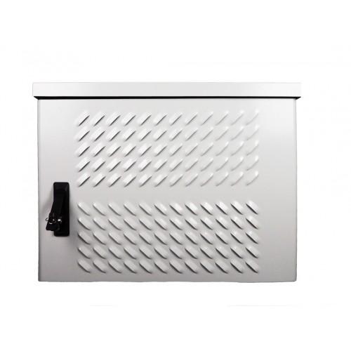 Шкаф уличный настенный, 9U, 600х500, В=500мм, передняя дверь вентилируемая, 1ЧАСТЬ