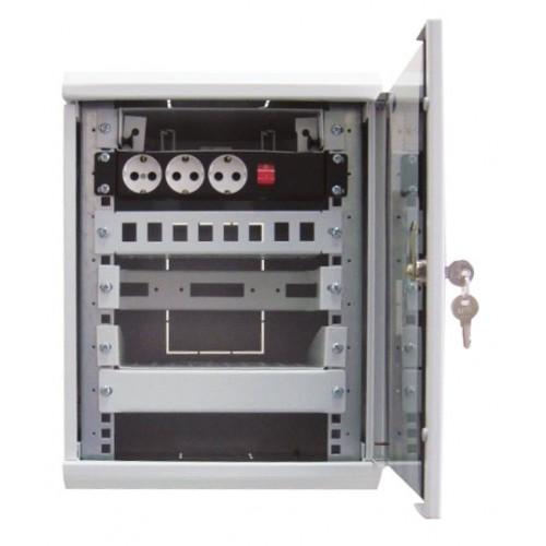 Панель телефонная в шкаф 10
