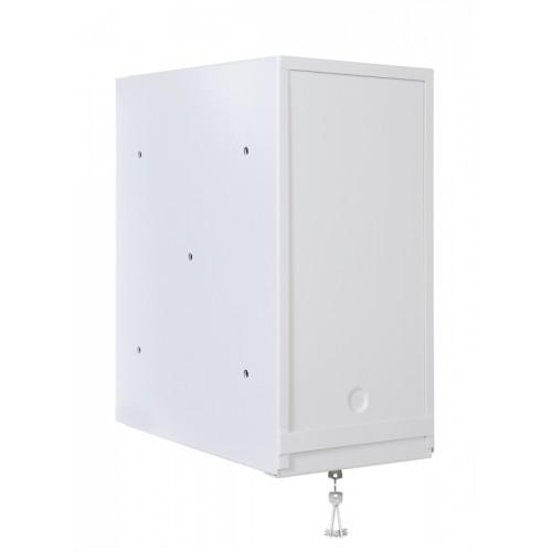 Шкаф настенный ЦМО 9U 450х600х500 антивандальный пенального типа серый ШРН-А-9.500