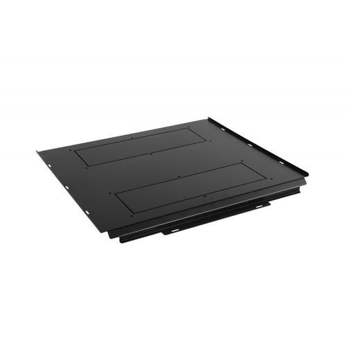 Фальш-пол ЦМО, 594х37х827 (ШхВхГ), для серий ШТК-СП, ШТК-МП, цвет: чёрный ОС-ШТК-СП-6.10
