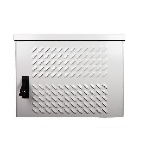 Шкаф уличный настенный, 6U, 600х500, В=400мм, передняя дверь вентилируемая