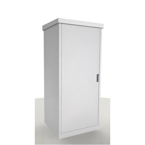 Шкаф уличный напольный, 24U, 800х800, В=1515мм, передняя дверь вентилируемая