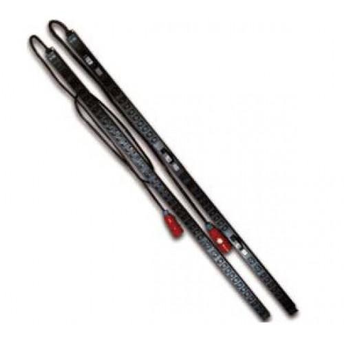 Вертикальный блок розеток, 3-фазный, 6xC19 + 36xC13, 380V, 16A, шнур 2 метра, вилка IEC309 TWT-PDV3-6x36-16A