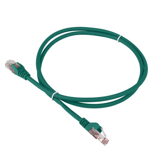 Патч-корд RJ45 - RJ45, 4 пары, FTP, категория 6A, 3 м, зеленый, LSZH, LANMASTER LAN-PC45/S6A-3.0-GN