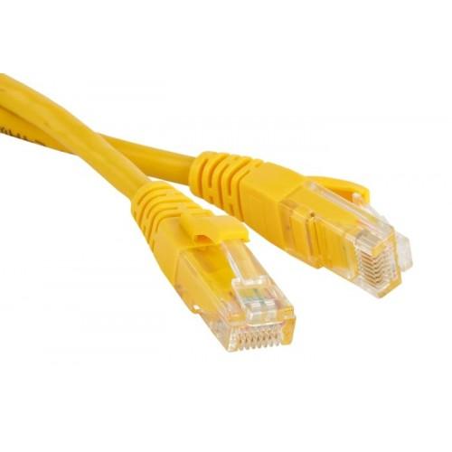 Патч-корд RJ45 - RJ45, 4 пары, S/FTP, категория 6A, 3 м, желтый, LSZH, LANMASTER LAN-PC45/S6A-3.0-YL