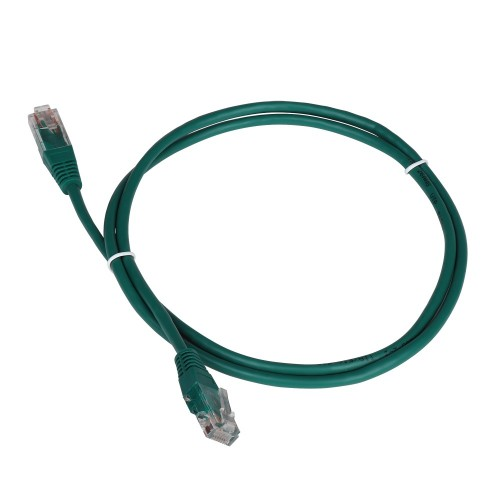 Патч-корд RJ45 - RJ45, 4 пары, FTP, категория 6A, 5 м, зеленый, LSZH, LANMASTER LAN-PC45/S6A-5.0-GN
