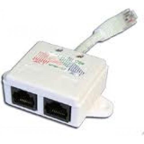 Y-адаптер, 2 параллельных порта, экранированный TWT-Y-BRIDGE-S