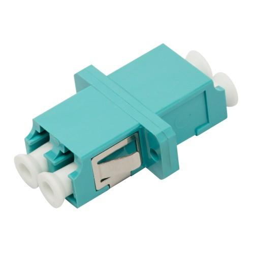 Адаптер оптический LANMASTER LC, OM4 корпус SC, дуплексный LAN-2LC/S-AM-OM4