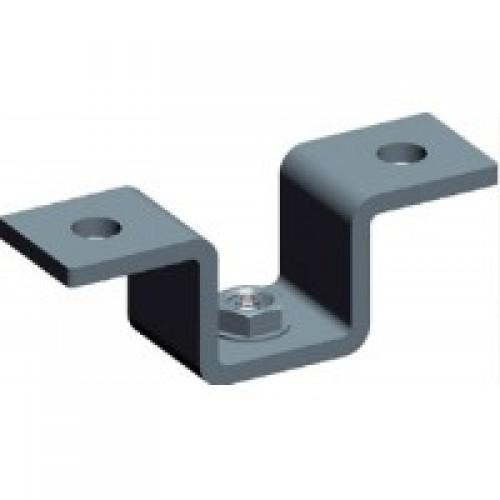 Фиксатор U-образный для алюминиевого лестничного лотка