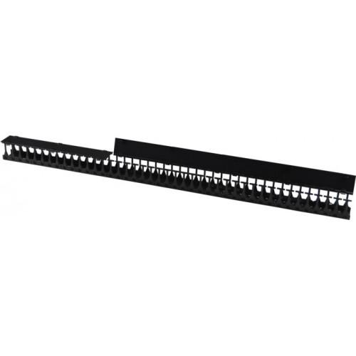 Органайзер 48U глубиной 179 мм, для шкафов LANMASTER DCS шириной 800 мм, 2 шт. в компл., черный LAN-DC-CB-48Ux8-VO18