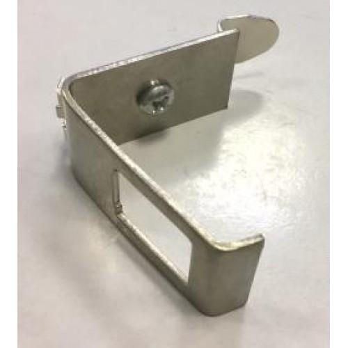 Рамка на DIN-рейку для установки модуля типа Keystone, металлическая Lanmaster LAN-DRF-1OK-M