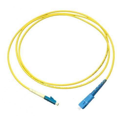 Патч-корд оптический TopLan, симплексный, FC/UPC-LC/UPC, SM, 15.0 м