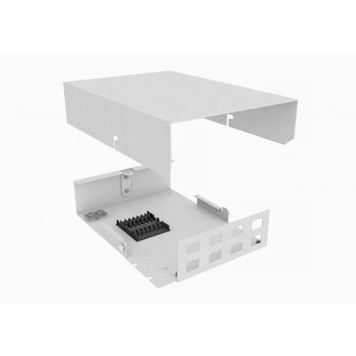 Кросс оптический, настенный, 8 SC/DLC адаптеров, TopLAN
