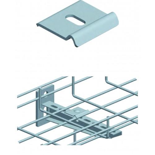 Скоба для крепления лотка Ф4.0-6.0мм к полу