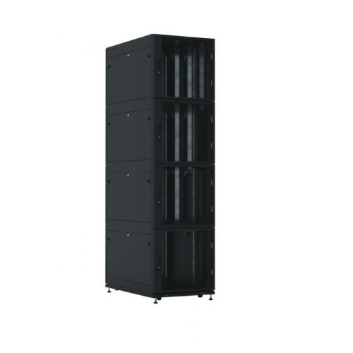 Шкаф серверный Colocation ЦМО ШТК-СП-К-4 IP20 44U 2250х600х1050 перфорированная дверь боковая панель сплошная сварной чёрный ШТК-СП-К-4-44.6.10-44АА