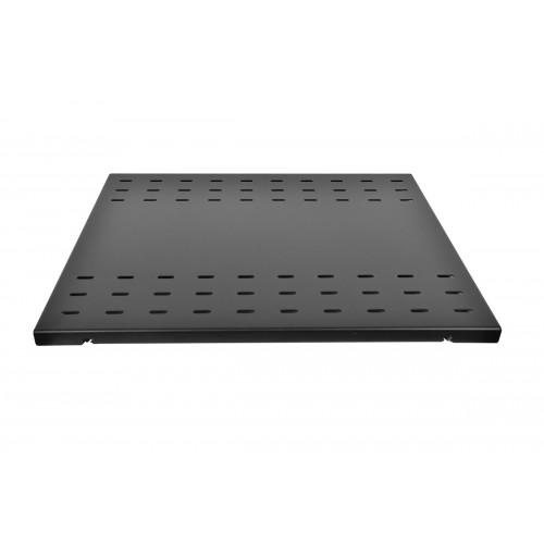 Полка усиленная для аккумуляторов, грузоподъемностью 200 кг, глубина 620 мм, цвет черный