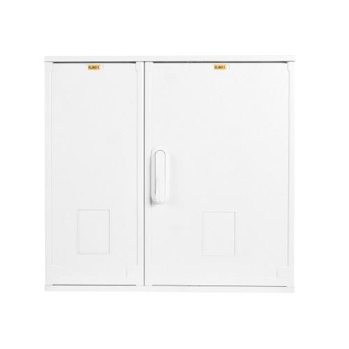 Шкаф электротехнический настенный Elbox EP IP44 800х600х250 двойная распашная дверь полиэстер серый EP-800.600.250-2-IP44