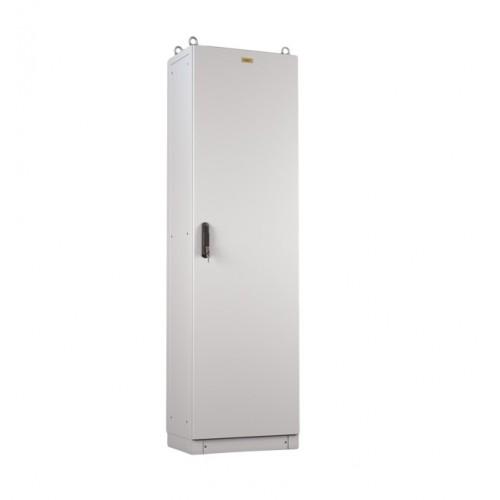 Шкаф электротехнический напольный Elbox EME IP55 1800х600х400 металлическая дверь серый EME-1800.600.400-1-IP55