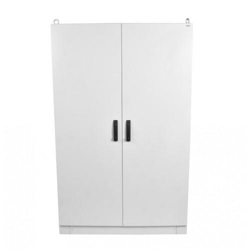 Шкаф электротехнический напольный Elbox EME IP55 1800х1200х600 двойная распашная дверь металл серый EME-1800.1200.600-2-IP55