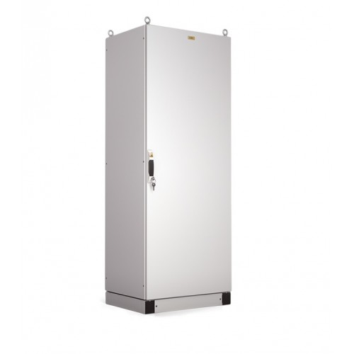 Корпус электротехнического шкафа Elbox EMS IP65 1600х800х400 металлическая дверь серый EMS-1600.800.400-1-IP65