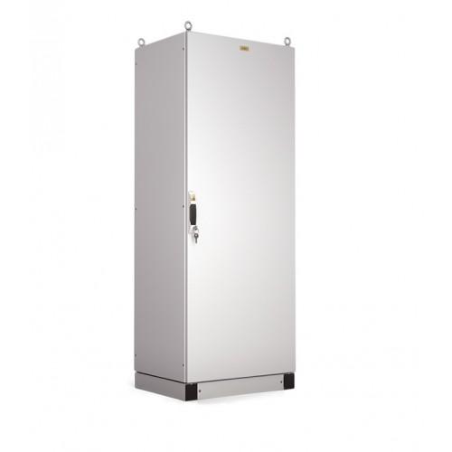 Корпус электротехнического шкафа Elbox EMS IP65 1600х800х500 металлическая дверь серый EMS-1600.800.500-1-IP65