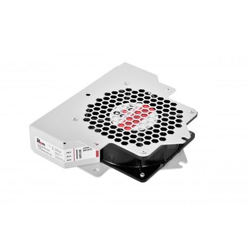 Вентиляторный модуль Rem R-FAN, 230V, 42х200х165 мм (ВхШхГ), вентиляторов: 1, 43 дБ, для шкафов ШТК-М 600, 800, 1000, цвет: серый R-FAN-1J