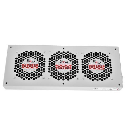 Вентиляторный модуль Rem R-FAN, 230V, 45х432х195 мм (ВхШхГ), вентиляторов: 3, 130 дБ, поток: 450 м3/ч, для шкафов ШРН R-FAN-3J