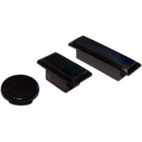 Заглушка в гнездо оптического адаптера TopLAN duplex SC / quadro LC  цвет чёрный