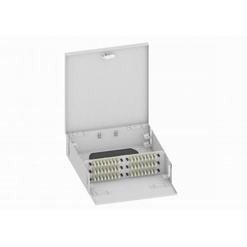 Кросс оптический, настенный, 96 LC адаптера, многомодовый, TopLAN, укомплектованный