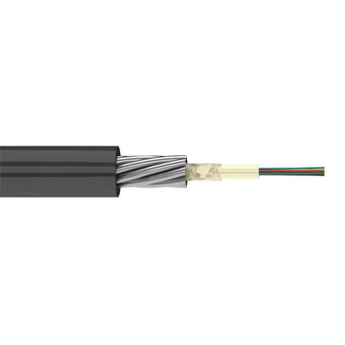 ВО кабель Lanmaster бронированный стал. проволокой, алюм. лента, GYXTA, PE, внешний, 4 х OS2