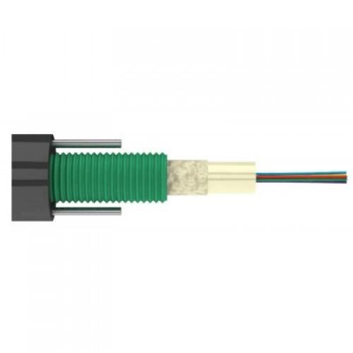 ВО кабель LANMASTER loose tube, 2 силов.эл. steel wire, GYXY, PE, внешний, 16 х OS2 LAN-OFC-GYXY16S2