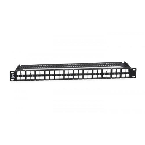 Cabeus PLBHD-48-1U Модульная патч-панель высокой плотности 19