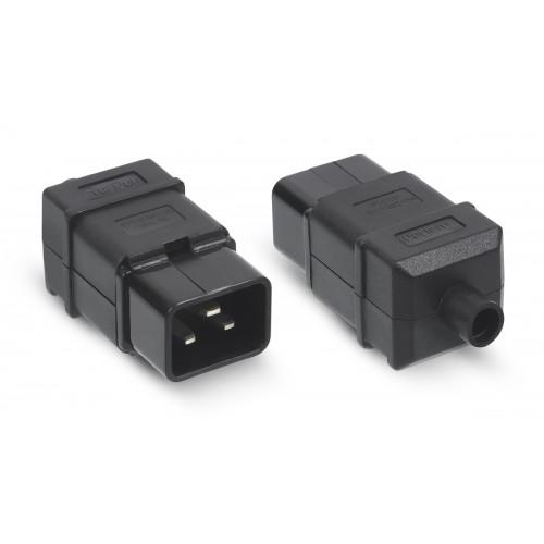 Cabeus IEC-320-C20 Вилка С20 разборная, 16А, 250 V, черная
