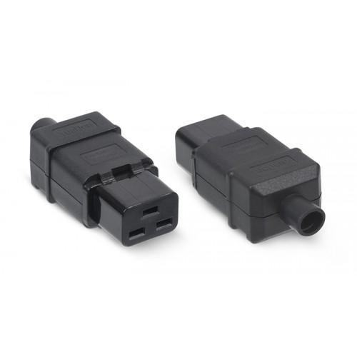 Cabeus IEC-320-C19 Вилка С19 разборная, 16А, 250 V, черная