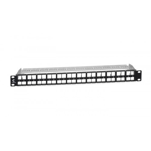 Cabeus Модульная патч-панель высокой плотн. 1U 48 портов для экранированных модулей  PLBHD-48-SH-1U