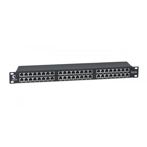 Cabeus PLHD-48-Cat.5e-SH-Dual IDC-1U Патч-панель высокой плотности 19