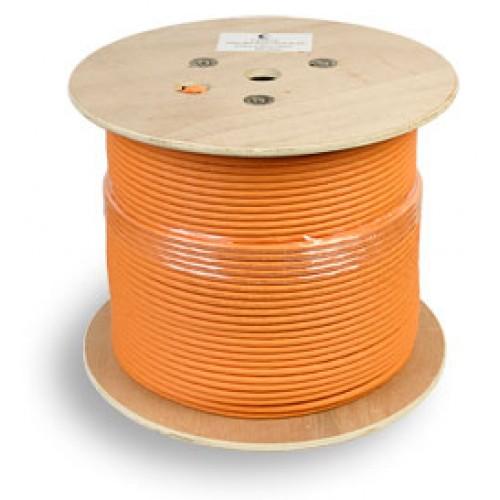 Cabeus SSTP-4P-Cat.7-SOLID-IN-LSZH Кабель экранированная витая пара SSTP (S/FTP), категория 7 , 4 пары (23 AWG), одножильный (solid), LSZH (305 м)