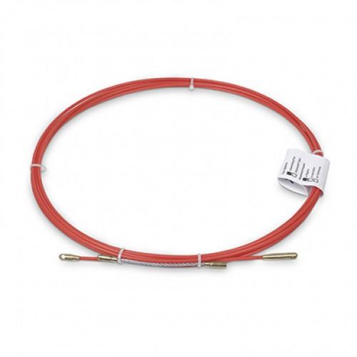 Cabeus Pull-B-6-5m Устройство для протяжки кабеля в стояках и трубах межэтажных конструкций мини УЗК в бухте, 5м (диаметр стеклопрутка 6 мм)