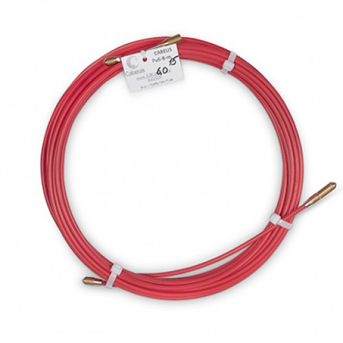 Cabeus Pull-B-6-15m Устройство для протяжки кабеля в стояках и трубах межэтажных конструкций мини УЗК в бухте, 15м (диаметр стеклопрутка 6 мм)
