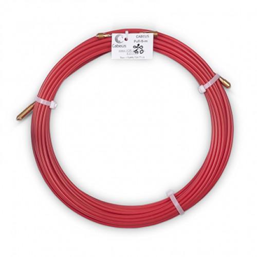 Cabeus Pull-B-6-20m Устройство для протяжки кабеля в стояках и трубах межэтажных конструкций мини УЗК в бухте, 20м (диаметр стеклопрутка 6 мм)
