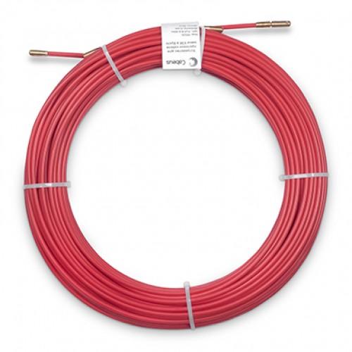 Cabeus Pull-B-6-25m Устройство для протяжки кабеля в стояках и трубах межэтажных конструкций мини УЗК в бухте, 25м (диаметр стеклопрутка 6 мм)