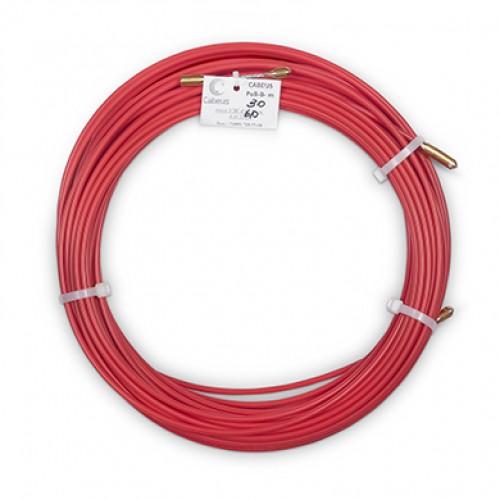 Cabeus Pull-B-6-30m Устройство для протяжки кабеля в стояках и трубах межэтажных конструкций мини УЗК в бухте, 30м (диаметр стеклопрутка 6 мм)