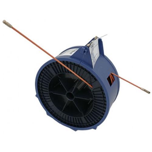 Cabeus Pull-C-20m Устройство для протяжки кабеля мини УЗК в пластмассовой коробке, 20м (диаметр прутка с оболочкой 3,5 мм)