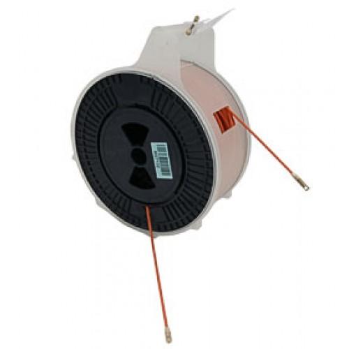Cabeus Pull-C-70m Устройство для протяжки кабеля мини УЗК в пластмассовой коробке, 70м (диаметр прутка с оболочкой 3,5 мм)